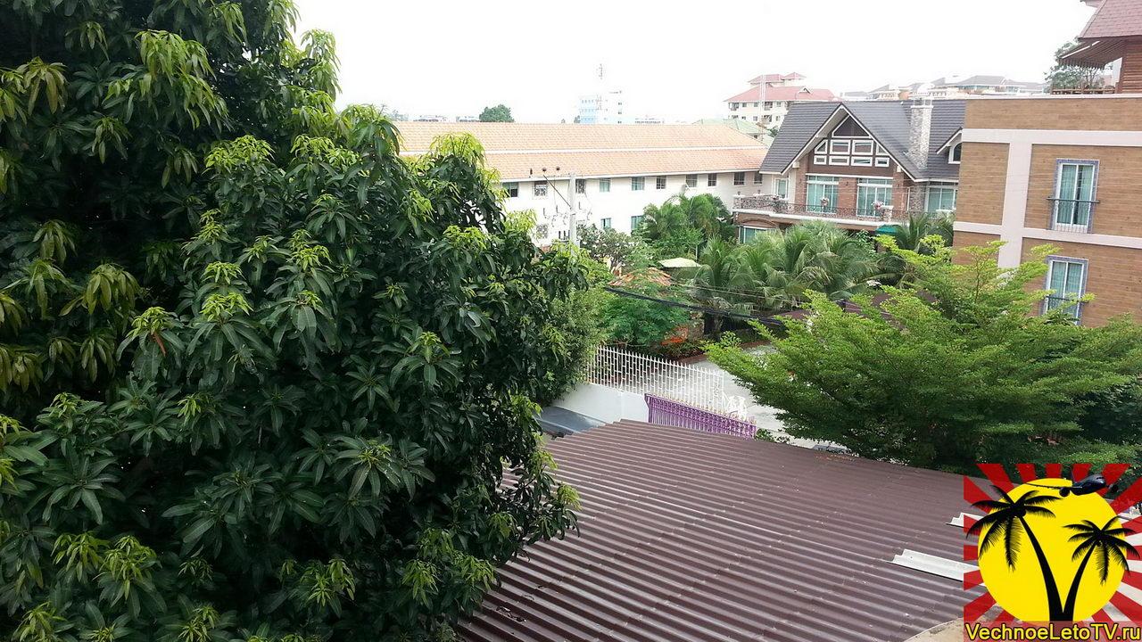 Вид из окна отеля Зинг в Тайланде