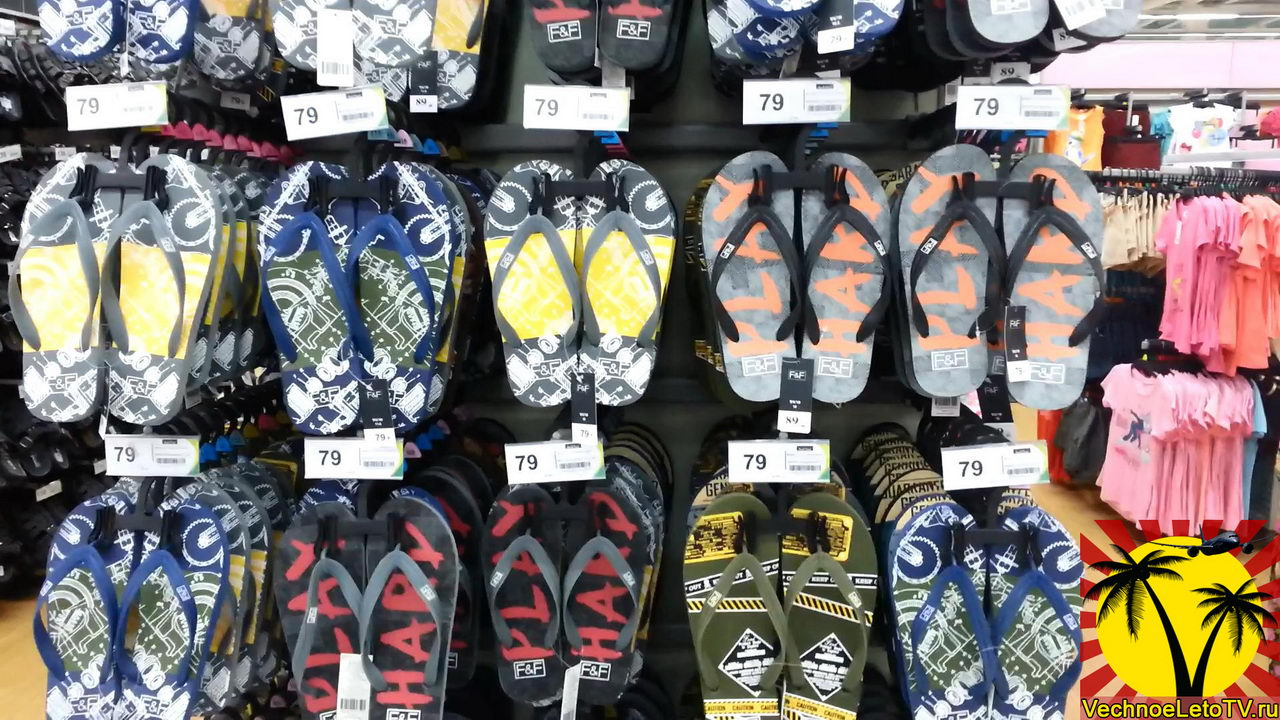 Обувь в Тайланде