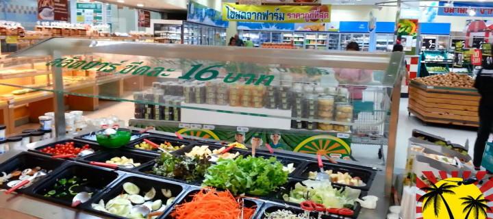 Еда в Тайланде. Обзор магазина Tesco Lotus в Паттайе