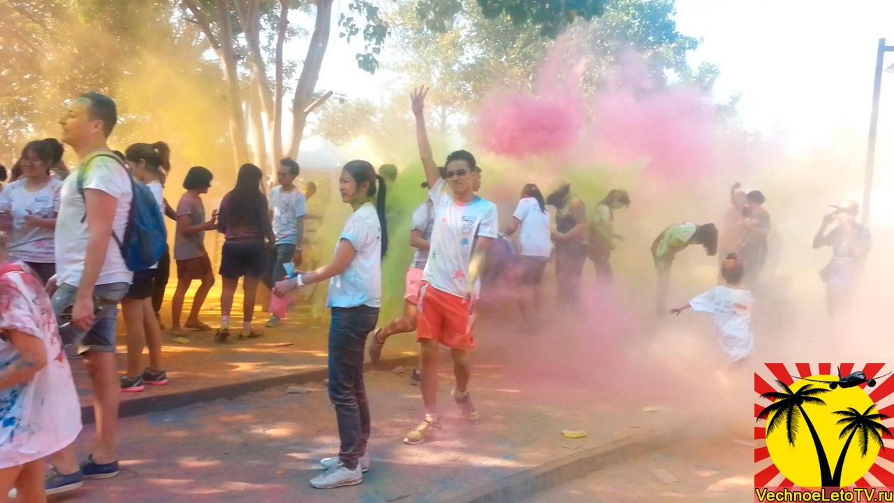 Colour-run-в-Паттайе-Тайланд