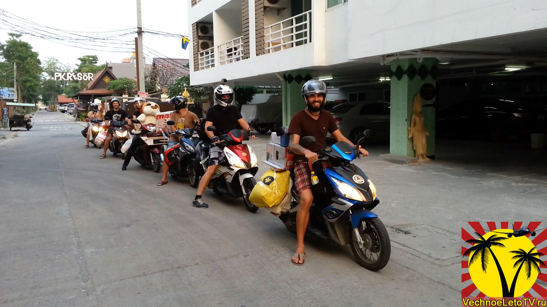 Байки-в-Таиланде
