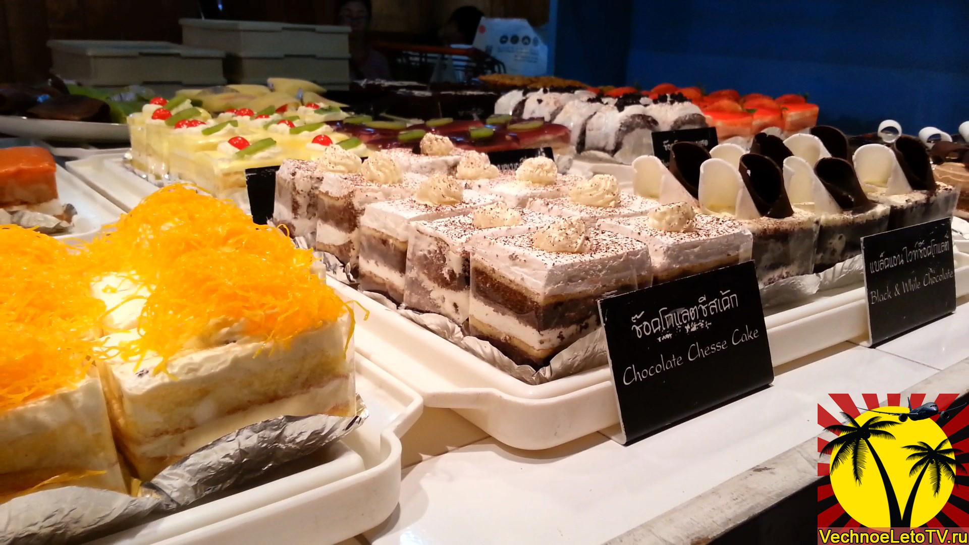 Еда-в-Тайланде-пирожные