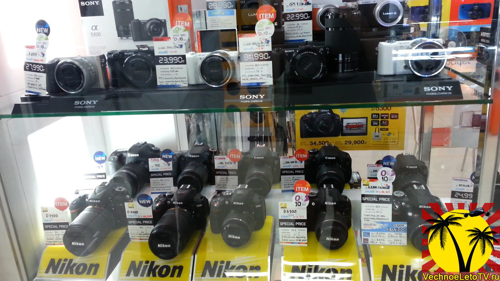 Фотоаппараты-в-Паттайе-Тайланд-Тукком