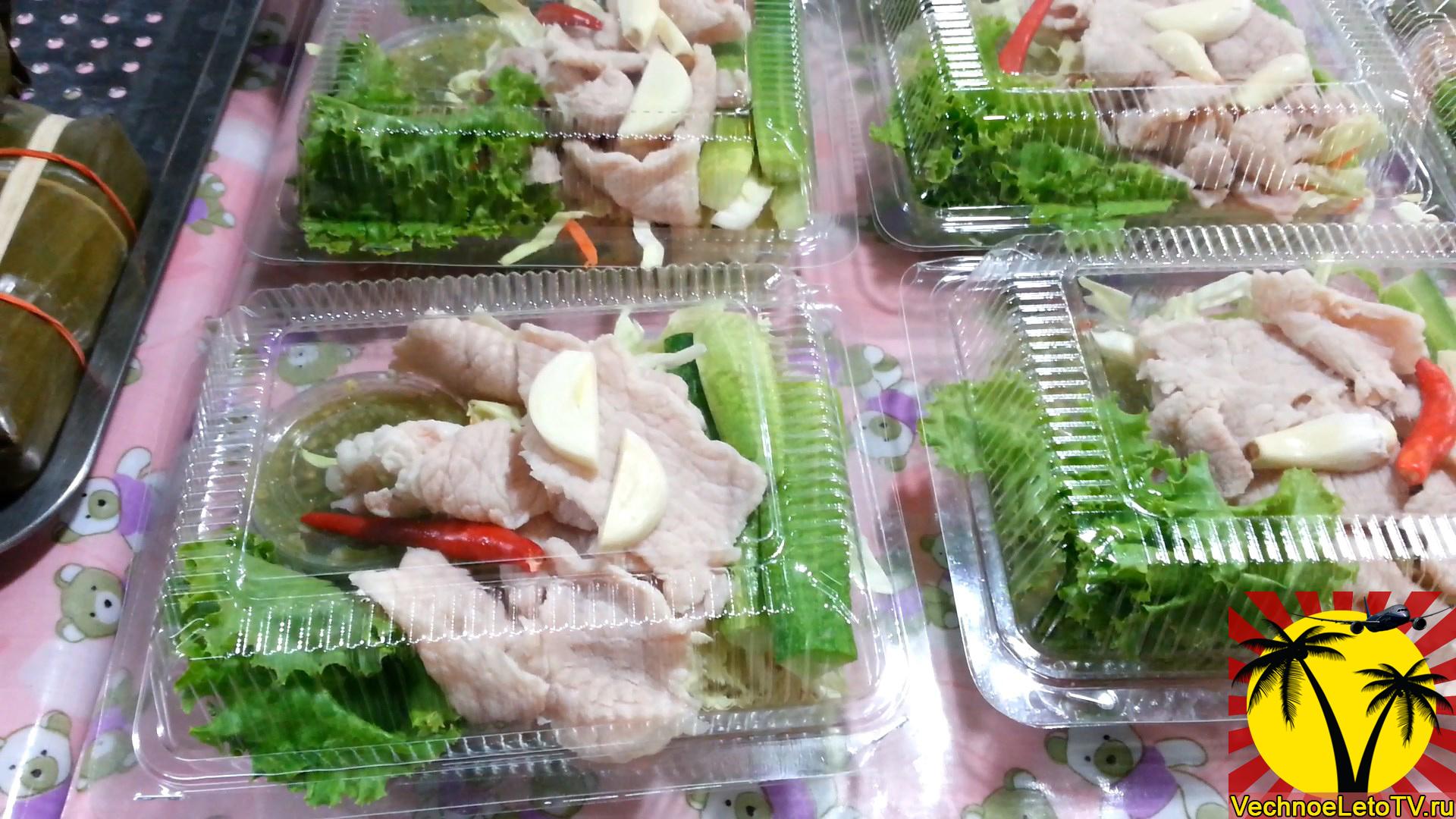Мясо-с-салатом-Таиланд