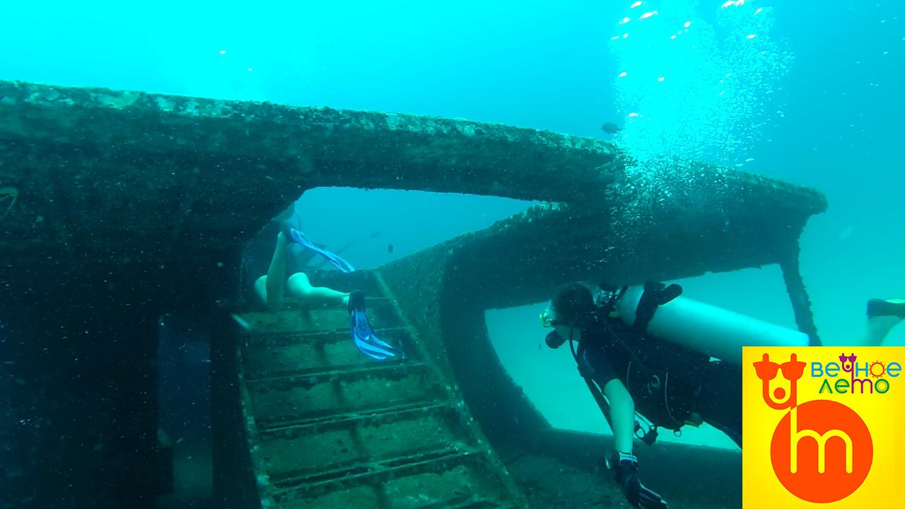 Дайвинг-затонувший-корабль