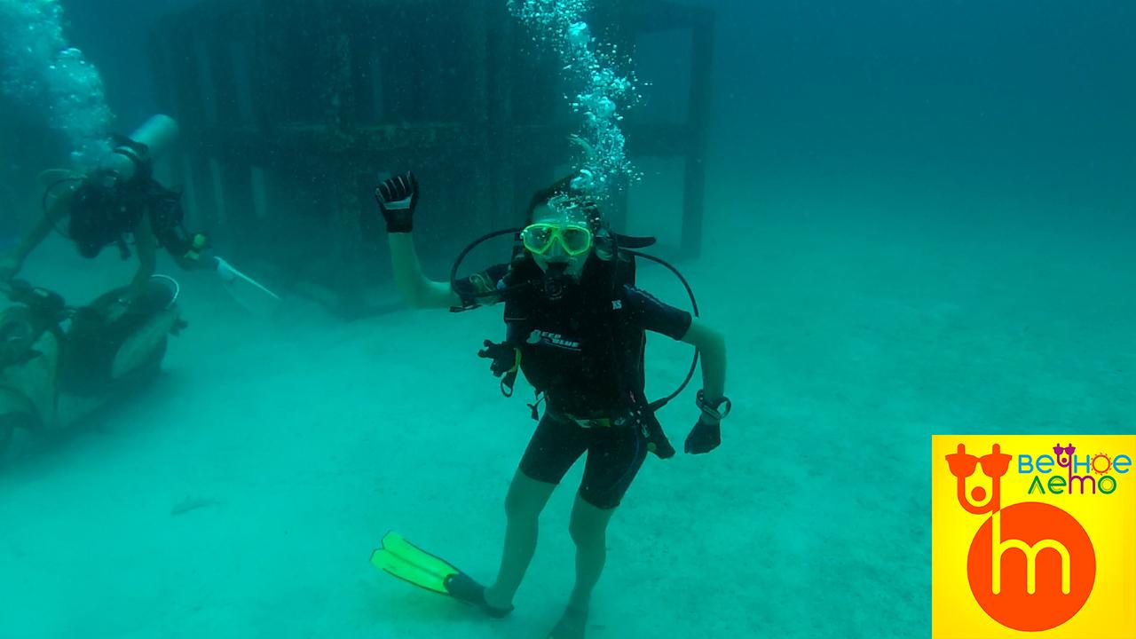 Под-водой