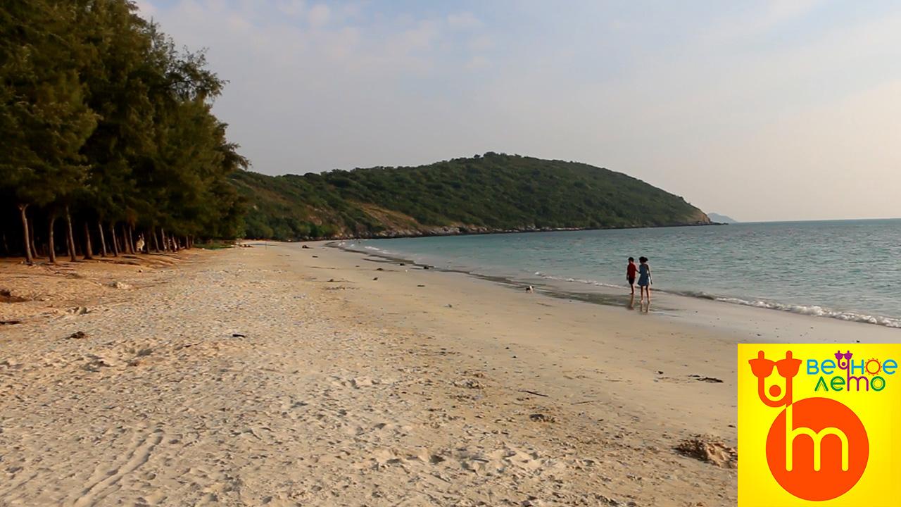 Пляжтанцующей-девушки-Саттахип