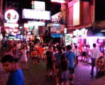 Walking Street в Паттайе, Тайланд