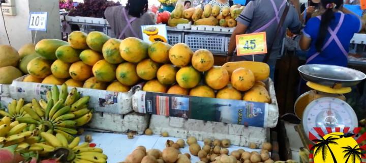 Фруктовый рынок в Паттайе, Тайланд – Самые дешёвые фрукты