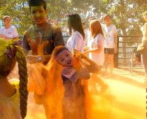 Colour Run (цветной забег) в Паттайе, Тайланд