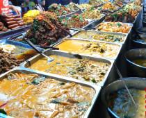 Еда в Тайланде — Самый большой рынок еды в Паттайе
